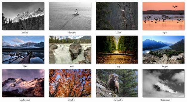 2015 Alberta Calendar