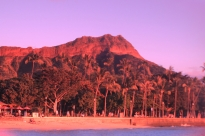 Diamond Head through rose colored glasses