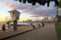 Waikiki Beach Scene