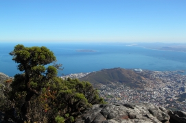 Downtown Cape Town from Table Mountain