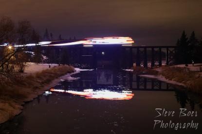 CN Christmas Express blur