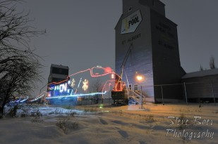 CN Christmas Express Ghost Train