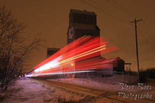 CN Christmas Express long exposure